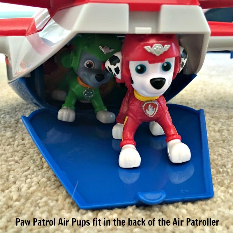 Paw Patrol Air Pups Toys in Paw Patrol Airplane