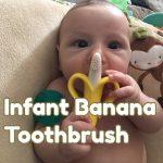 baby banana toothbrush for teething
